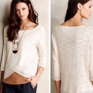 NWT ANTHROPOLOGIE Moth Top